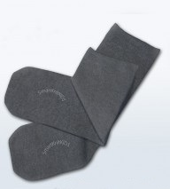 Absolutely Seamless Socks - SmartKnitKIDS ultimate comfort sock: Charcoal Grey