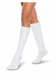 Adult Seamless Sensitivity Socks - Over the Calf - WHITE - (Smartknit)