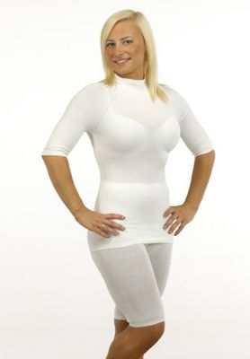 Seamless Base Layers - Short Sleeve Vest - Skinnies Adult from Sensory Smart Store